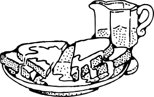 French drawing toast. Clip art at clker