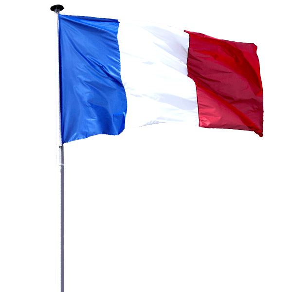 French flag png. Transparent image