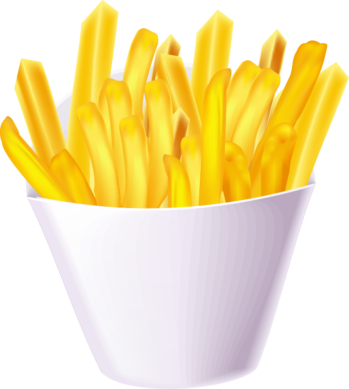 French fries clipart png. Image purepng free transparent