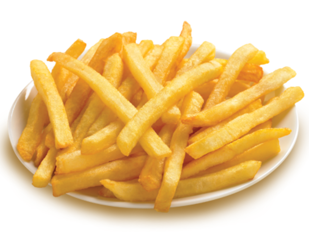 French fries png. Nutrition information eat this