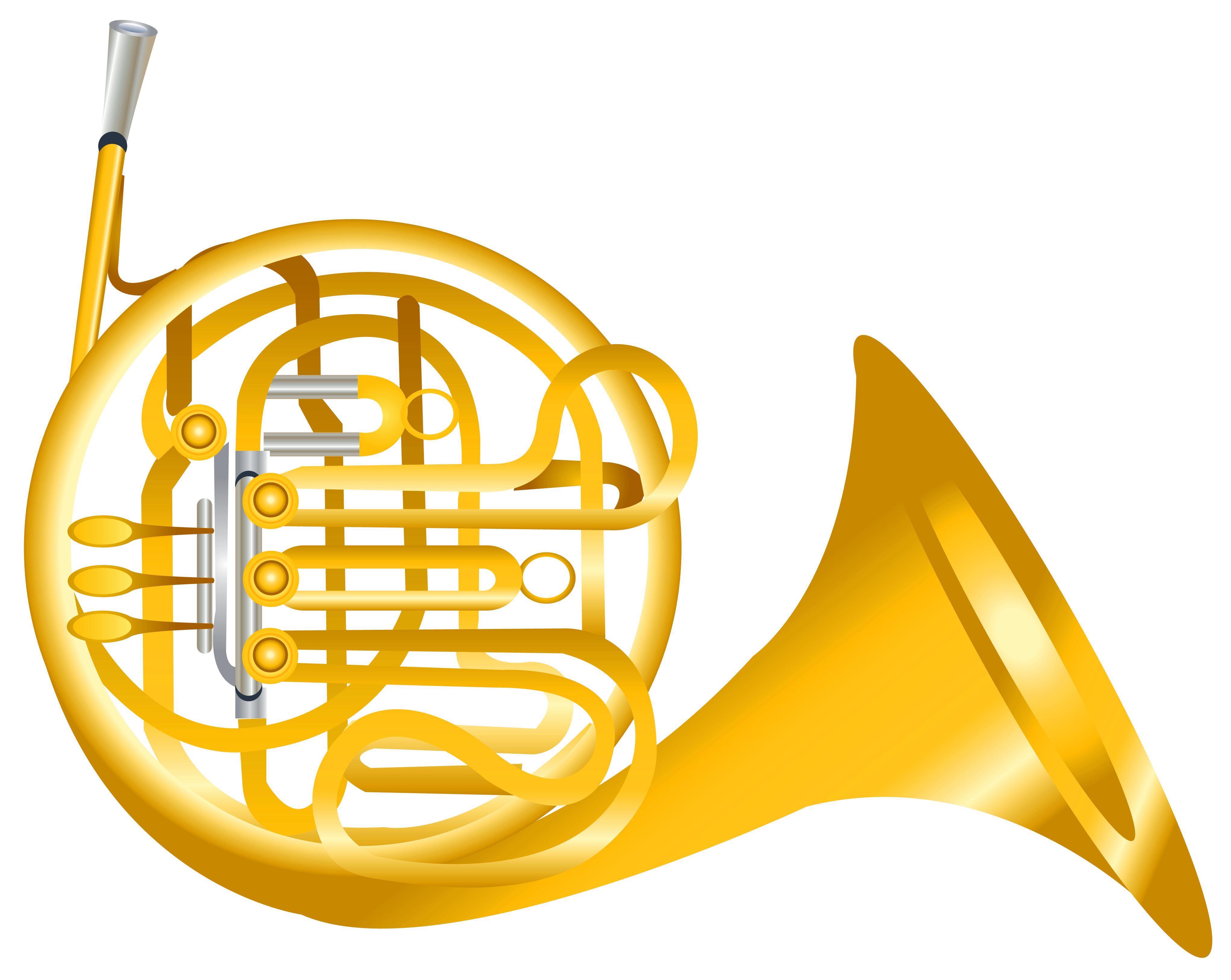 French horn transparent png. Clipart gallery yopriceville high