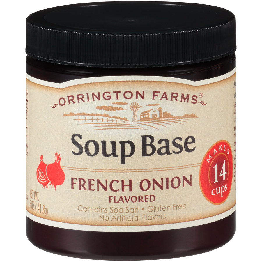 French onion soup png. Orrington farms natural base