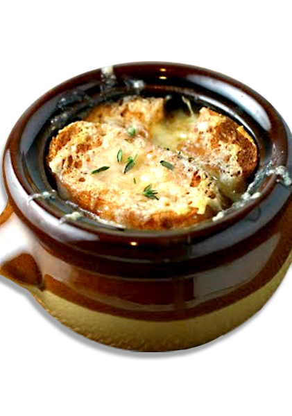 French onion soup png. Soups the downtown cafe