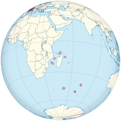French Southern Territories. And antarctic lands wikipedia