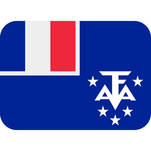 French Southern Territories. Twitter twemoji