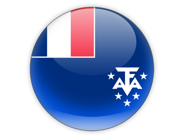 French Southern Territories. Graafix flag of graphics