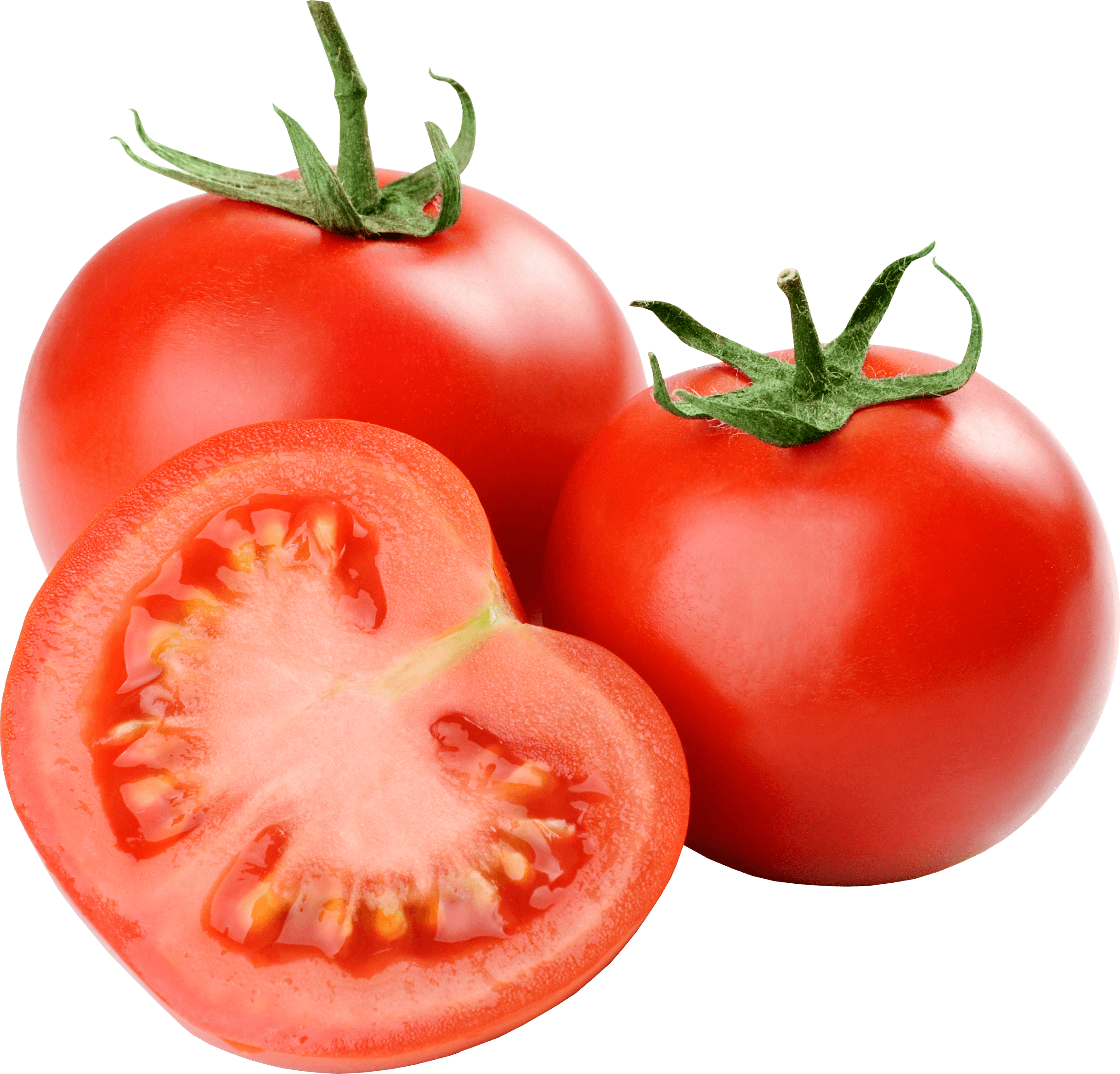 Fresh food png. Group of tomatoes transparent