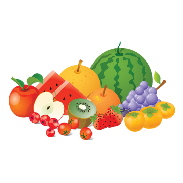 Fresh fruits png. Passion fruit vectors psd