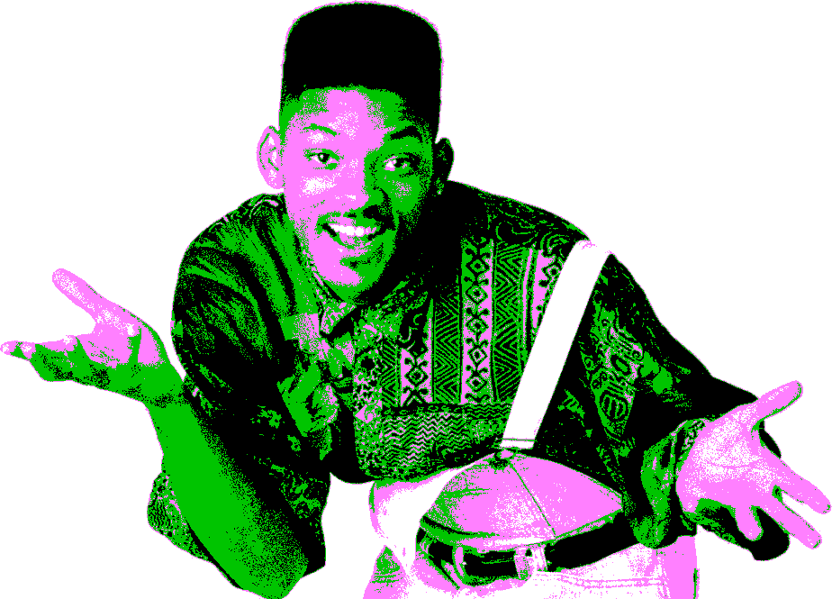 90s transparent fresh prince bel air. The pince of