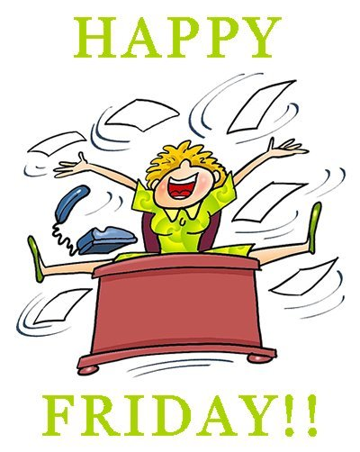 Friday clipart happy friday. Free image clip art