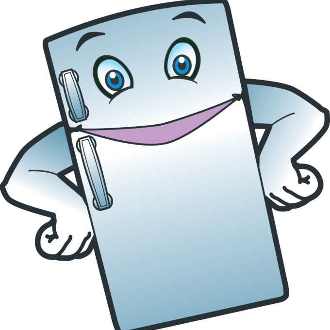 Refrigerator clipart. Fridge at getdrawings com