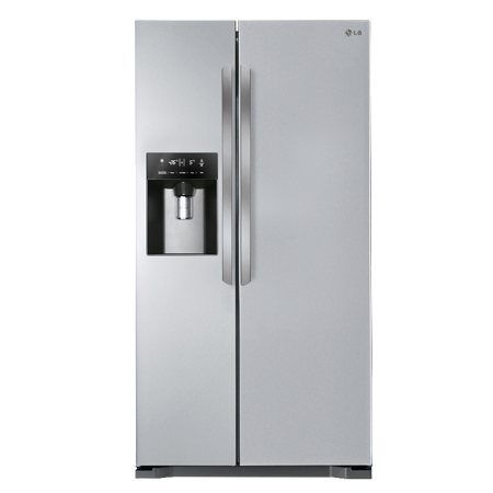 Fridge transparent frosted glass