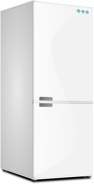 Fridge vector art. Refrigerator clipart free download