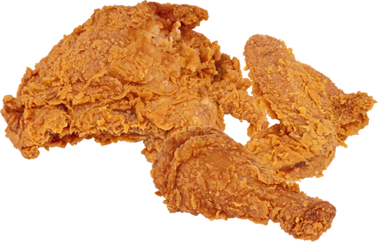 Fried chicken png.