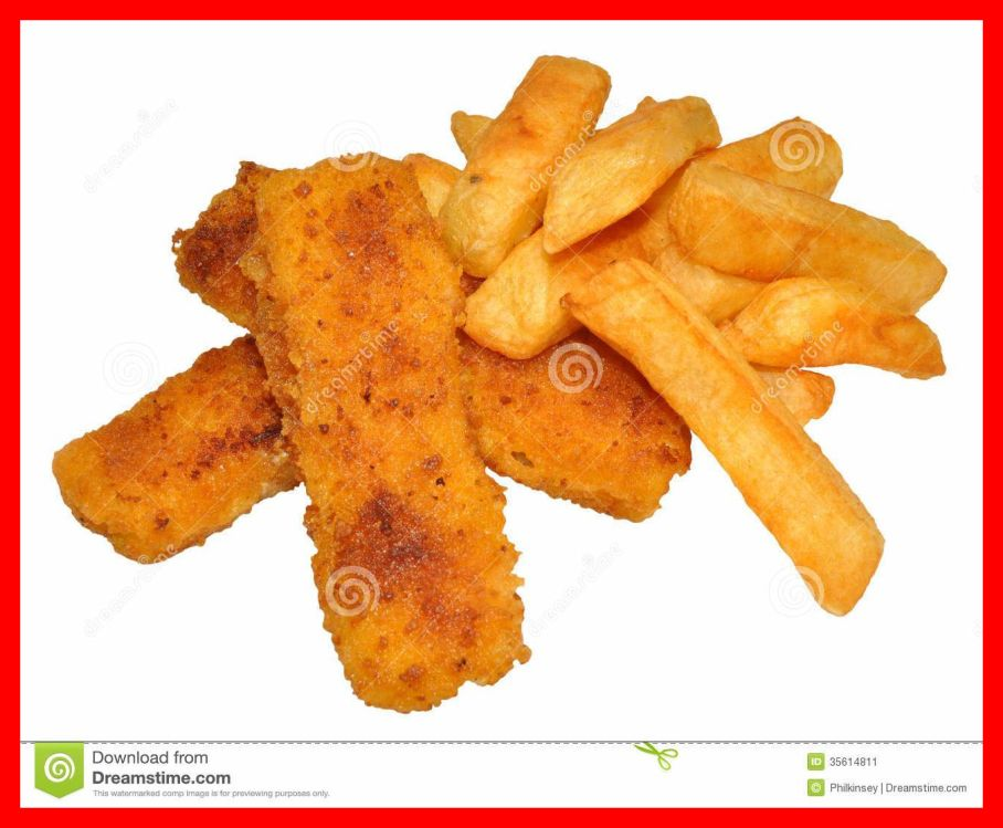 Fried clipart finger chip. Inspiring fish fingers and