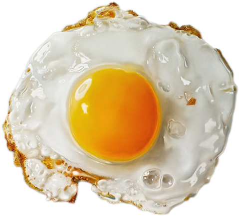 fried egg png