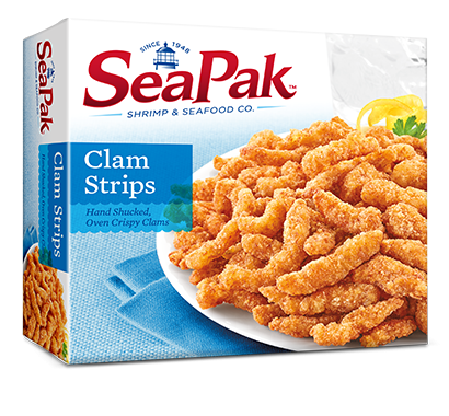 Fried whitefish dinner png. Clam strips seapak oz