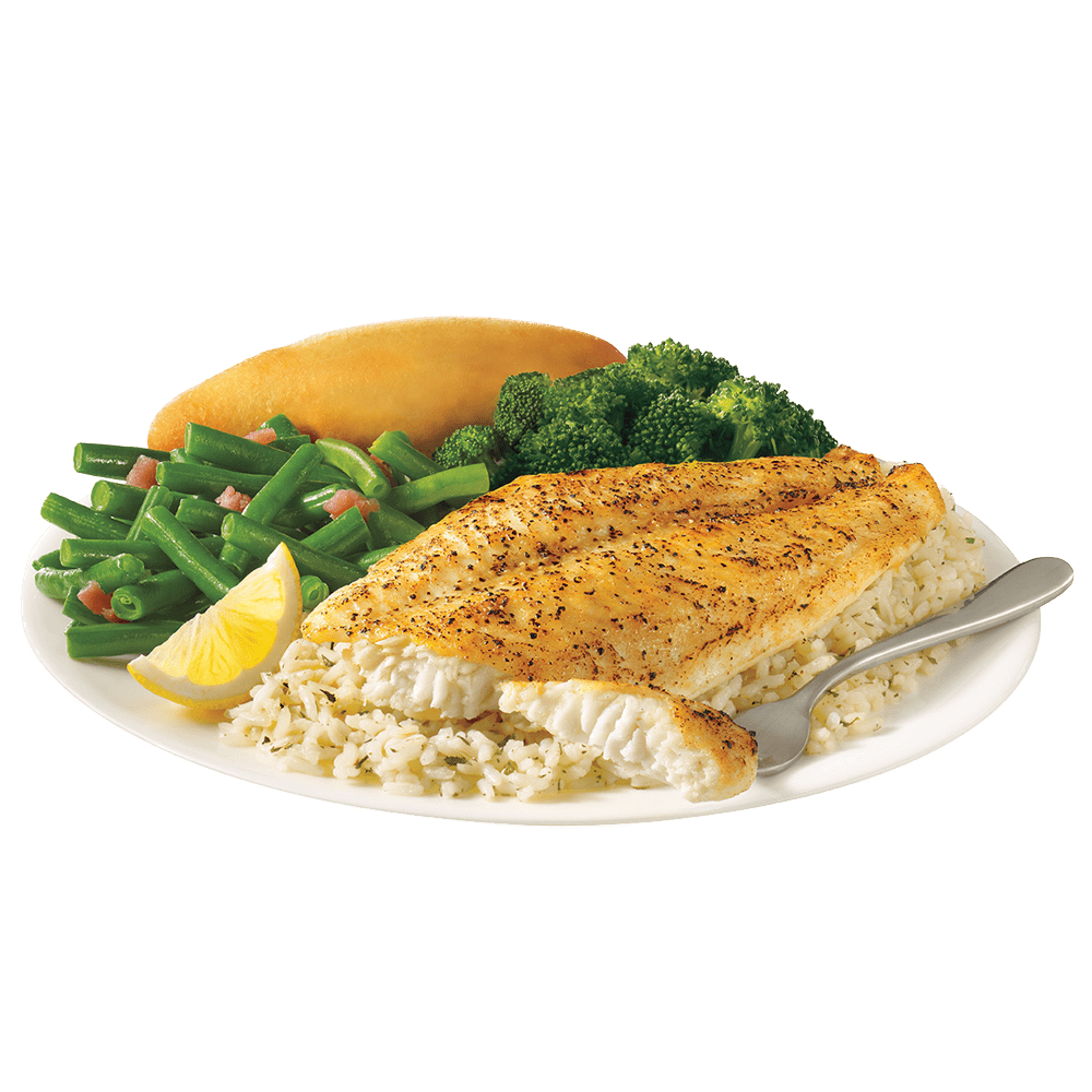 Fried whitefish dinner png. Captain d s your