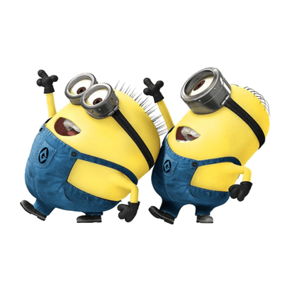 minion vector png