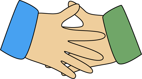 Handshake clipart helping hand. Eco friendly free vector