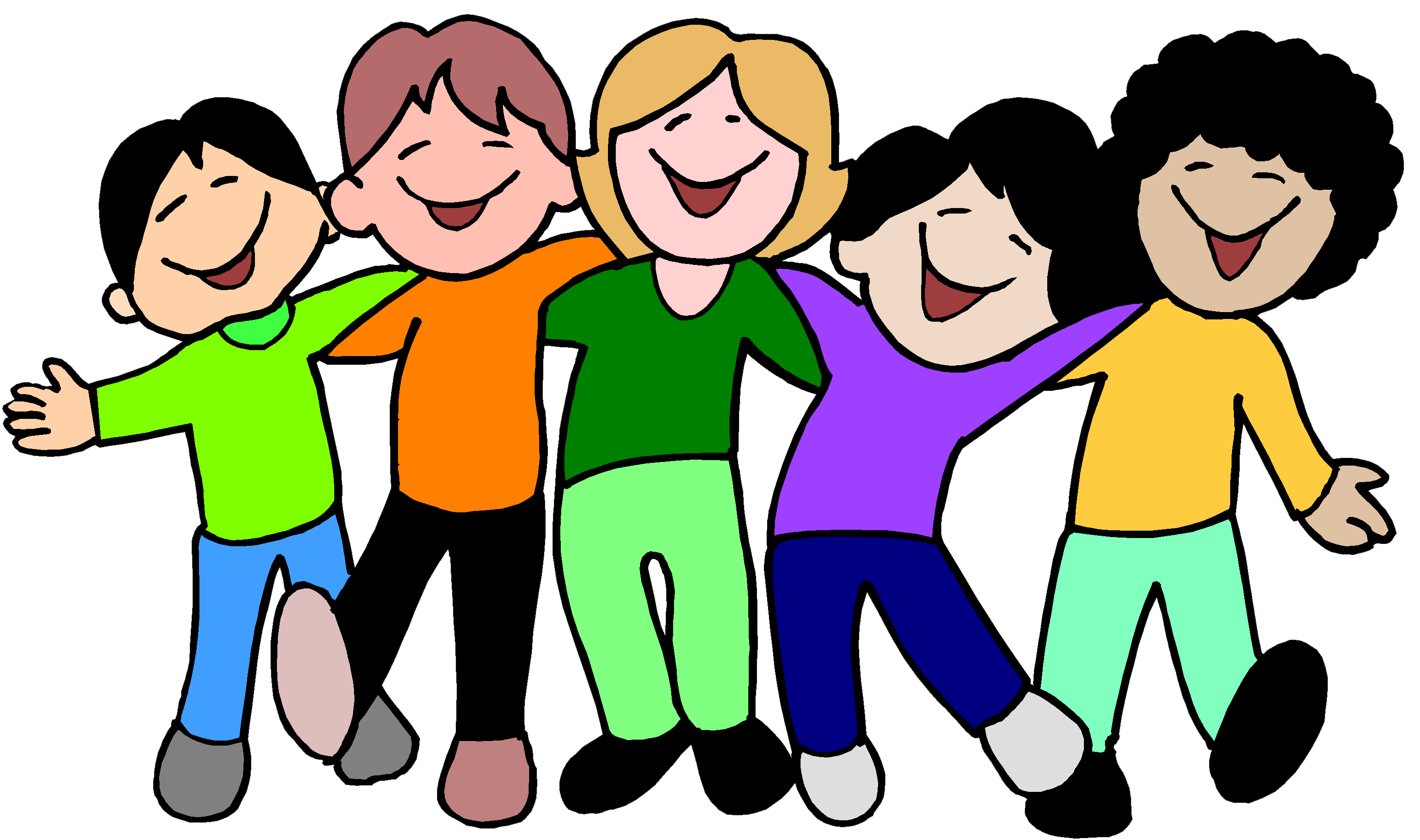 Friendly clipart sociable person. Kidzone word for the
