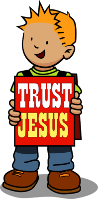 Friendly clipart trust. I in you jesus