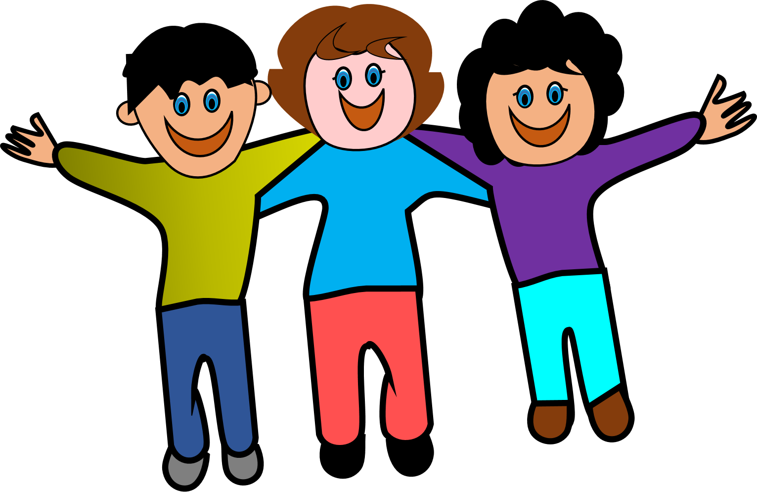 Friends playing clipart at. Clip download jpg royalty free download