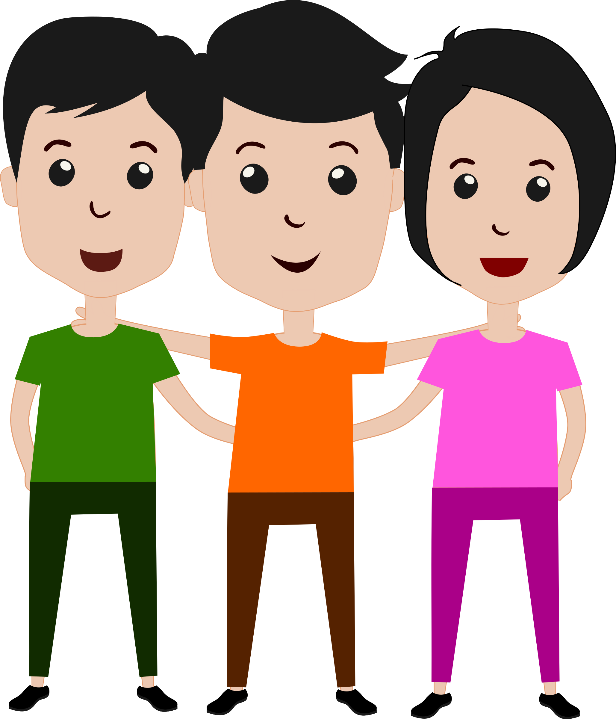 Friends clipart png. Collection of friend