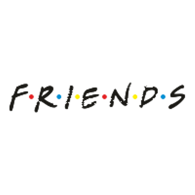 Friends logo png. Transparent stickpng