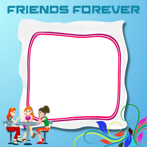 Friends frame png. Personalized friendship frames extra