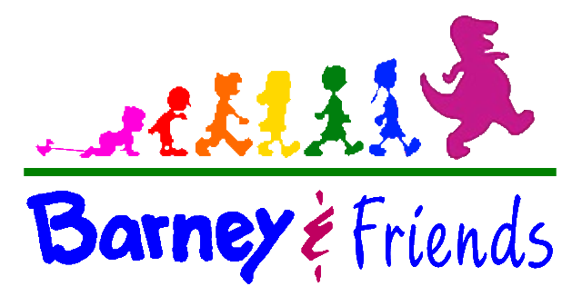 Friends logo png. Image barney and wiki