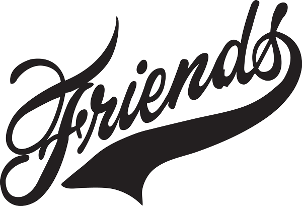 Friends logo png. Retro marysashbourne scoilnet ie