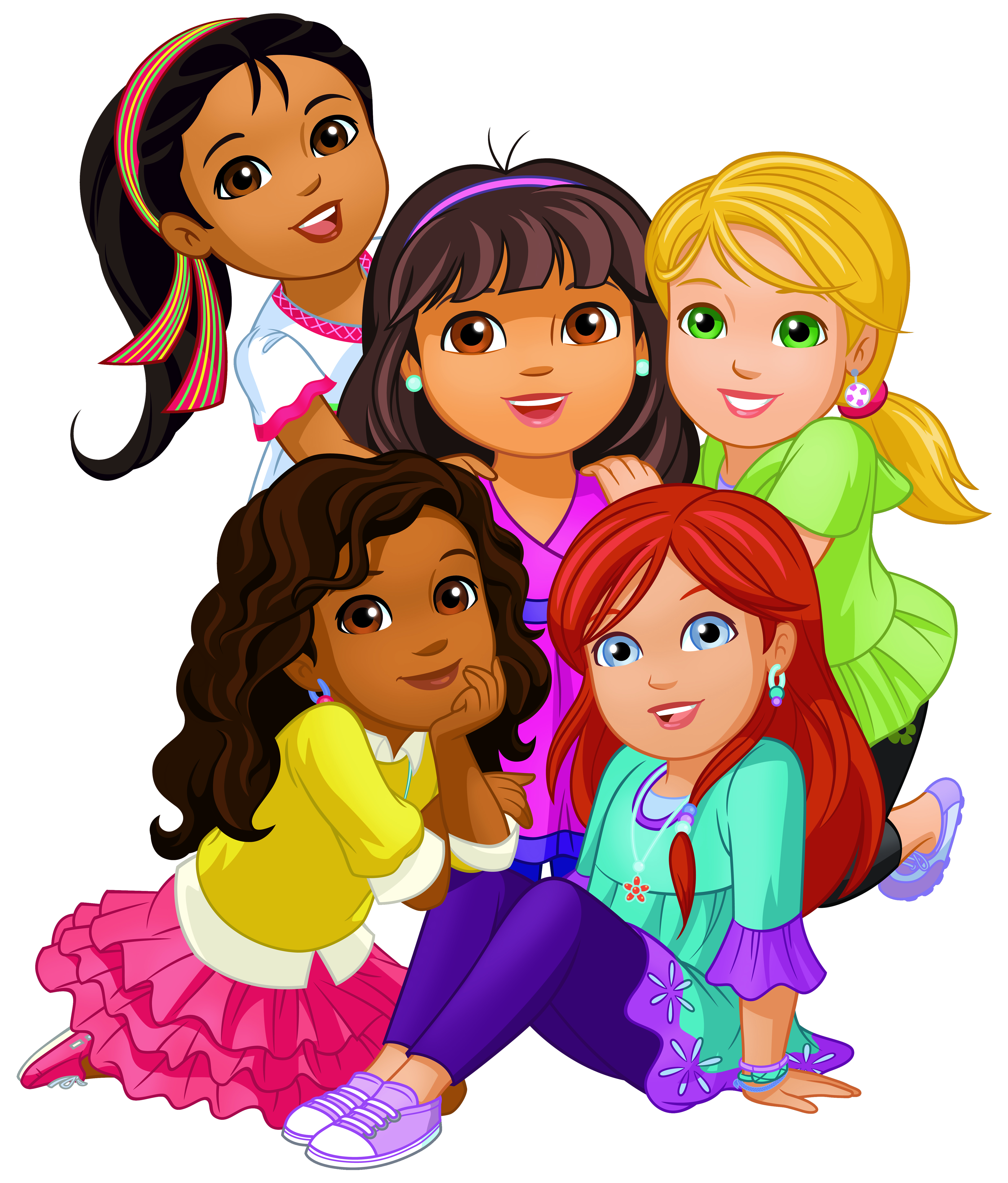 Dora and png clip. Friendship clipart friends house transparent stock