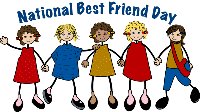 Friendship clipart month. Honor your best friend