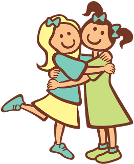 Friendship clipart month. Happy day spectacular friends