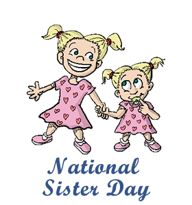 Brother clipart eld sister. National day calendar history