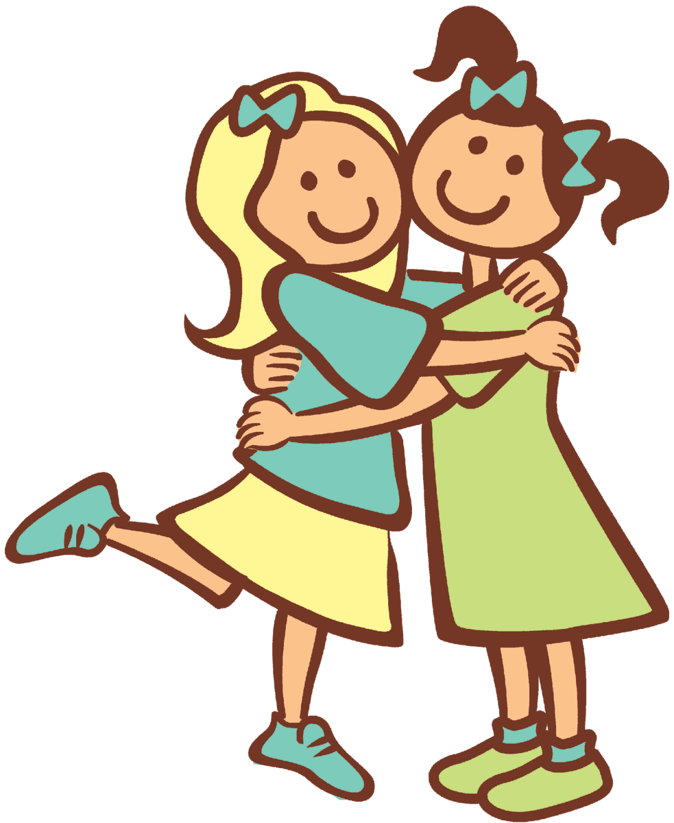 october clipart hug