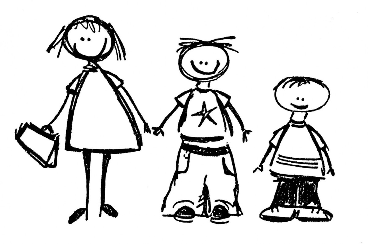 friendship clipart sibling