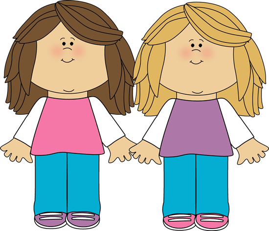 sisters clipart human