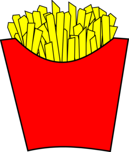 Fries clipart clip. French modern art at