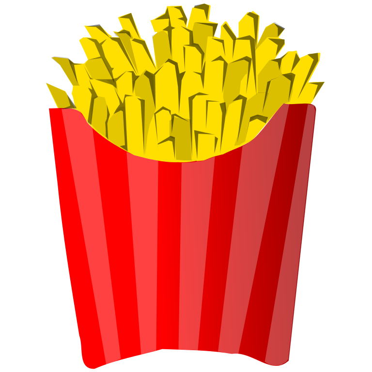 Fries vector draw. Free images of french