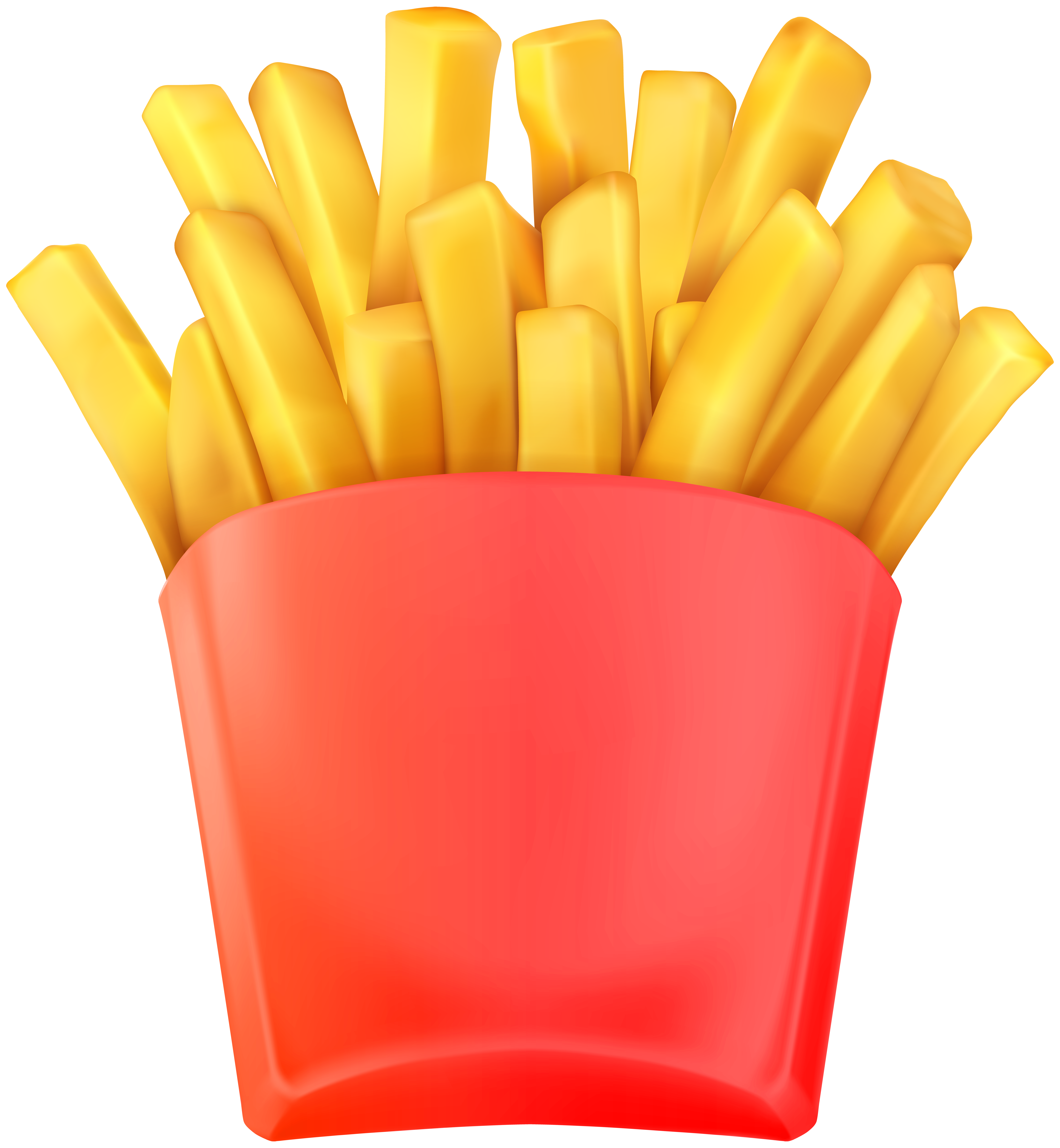 French fries clipart png. Transparent clip art image