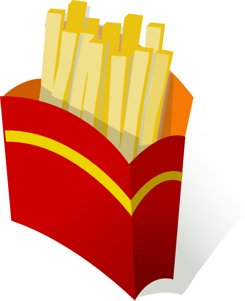 cartoon french fries png
