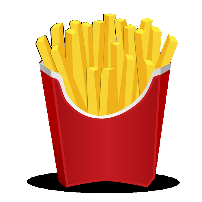 fry clipart hot dog fry
