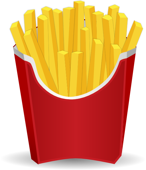 Fries clipart png. French clip art at