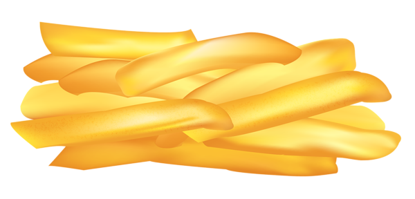 Fries vector background. Potato chips png