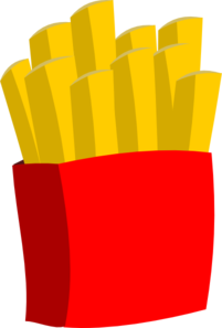 Fries vector drink. French clip art at
