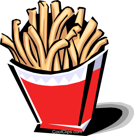 Fries vector frying. French clipart at getdrawings