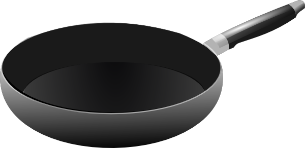 Fries vector frying pan. Collection of free fried