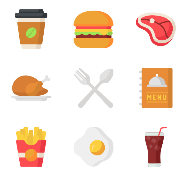 Fries vector sketched. French icons free fast